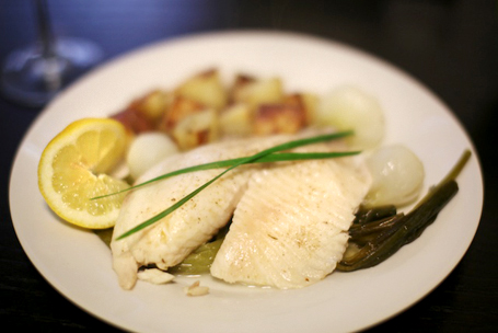 butter-poached-tilapia-onions