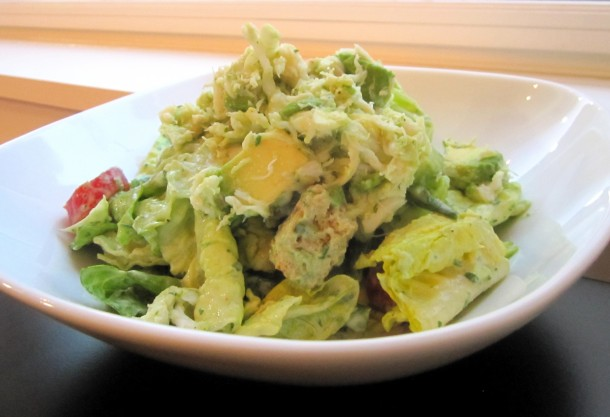 ... crab salad in avocado cook the book crab salad with crab and avocado