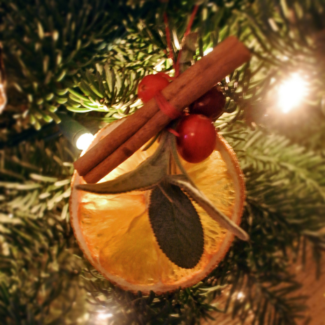 diy foodie christmas ornaments
