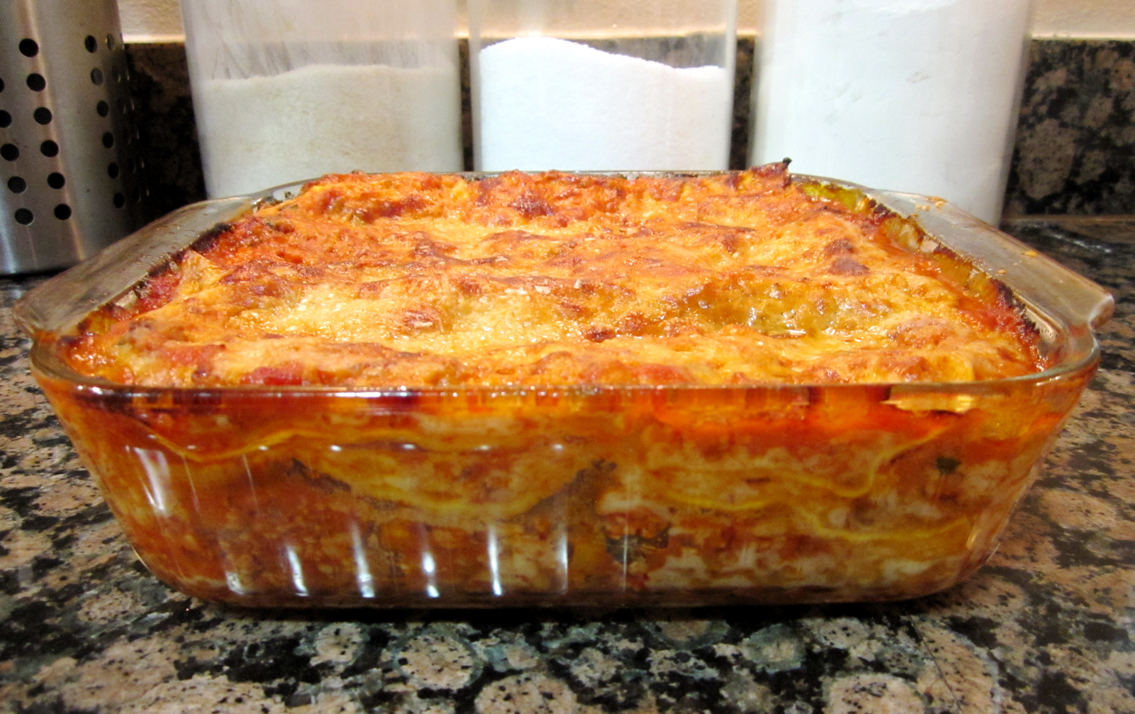 Oh Lasagna How I Love Thee Ve Made A Million Recipes Over The Years My Mom Actually Has Really Great Traditional Recipe With Meat